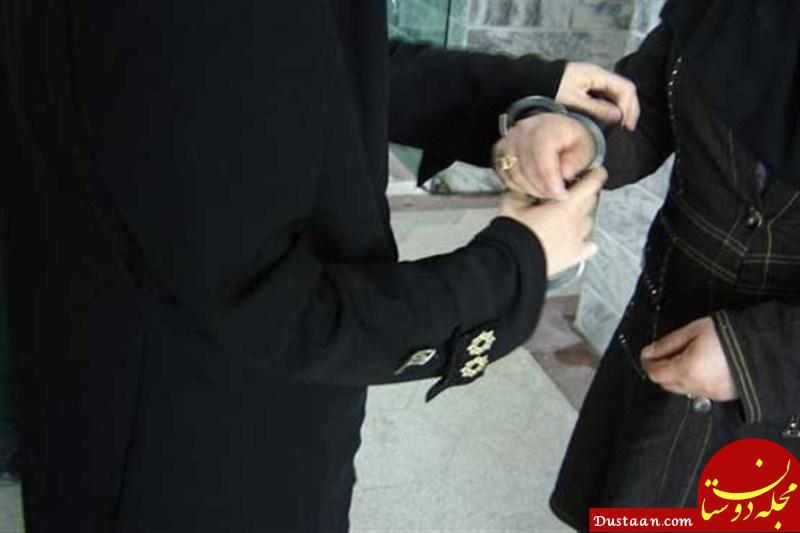 www.dustaan.com دستگیری زنان مدل در بندر عباس
