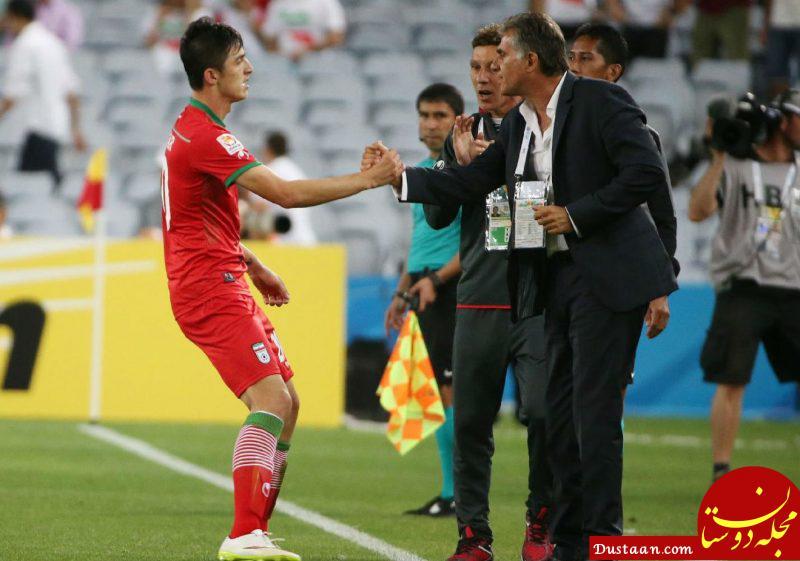 www.dustaan.com واکنش کی روش به خداحافظی آزمون از تیم ملی