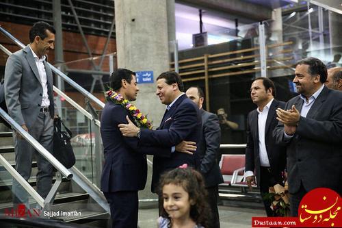 www.dustaan.com بازگشت تیم داوری ایران از جام جهانی +تصاویر