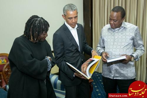 www.dustaan.com اوباما در روستای زادگاه پدری در کنیا +تصاویر
