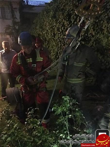 www.dustaan.com نجات مرد جوان پس از سقوط به چاه 50 متری +تصاویر