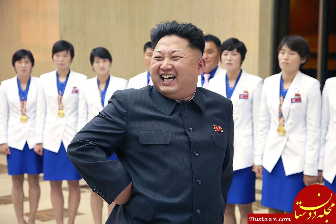 www.dustaan.com وقتی زبان رهبر کره شمالی بند آمد!