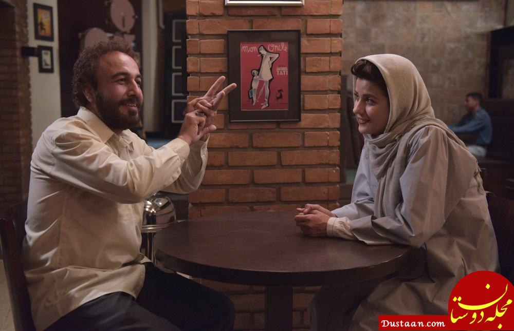 www.dustaan.com سارا بهرامی با دو نقش متفاوت در سینما +تصاویر