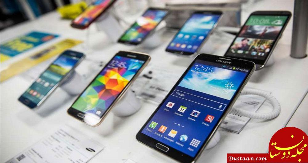 www.dustaan.com کاهش 50 درصدی فروش موبایل در بازار