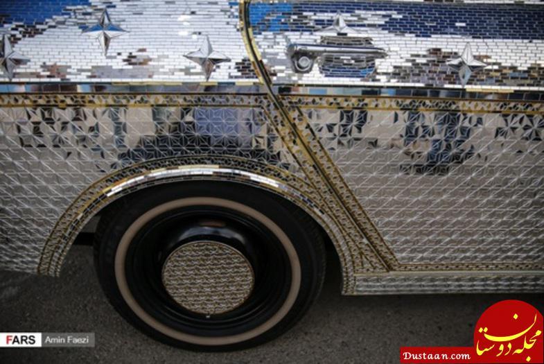www.dustaan.com رونمایی از تنها پیکان آینه کاری شده دنیا در شیراز! +تصاویر
