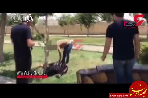www.dustaan.com واکاوی بی تفاوتی مردم در لحظه قتل یک زن توسط شوهر پنجمش در خیابانی در تهران!