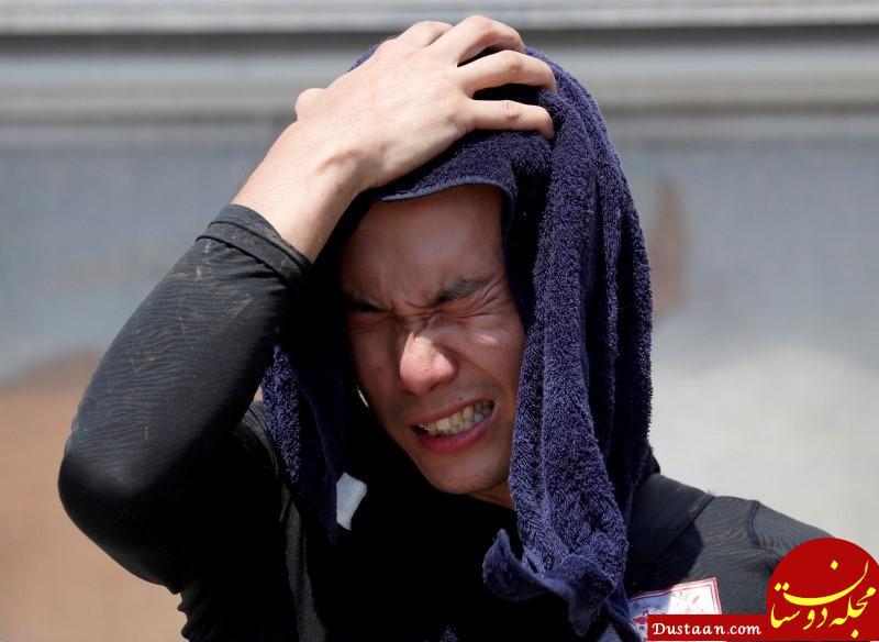 www.dustaan.com گرمای ژاپن 10 هزار نفر را راهی بیمارستان کرد
