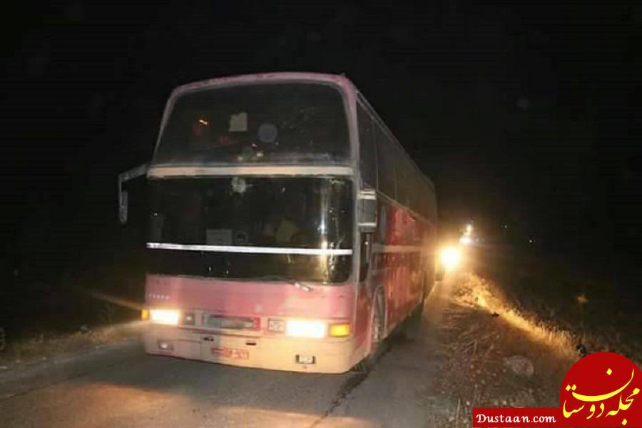 www.dustaan.com همه محاصره شدگان فوعه و کفریا پس از 4 سال از استان ادلب خارج شدند