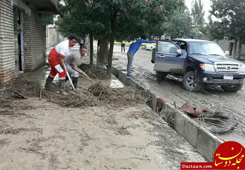 www.dustaan.com سیل در 2 استان خراسان شمالی و کرمان/ امداد رسانی به 62 نفر