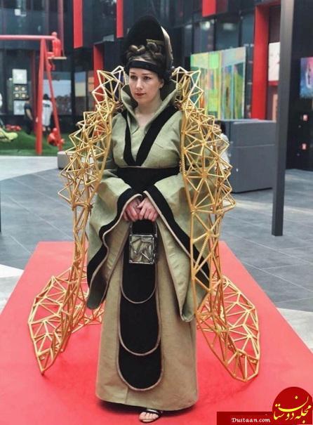 www.dustaan.com دختری که به «ملکه جوشکاری» شهرت یافته است! +تصاویر