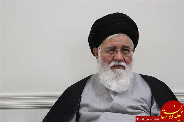 www.dustaan.com تعریف علم الهدی از دامادش در نماز جمعه مشهد