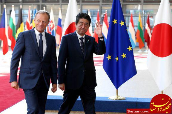 www.dustaan.com بزرگ ترین پیمان تجارت آزاد بین اتحادیه اروپا و ژاپن به امضا شد