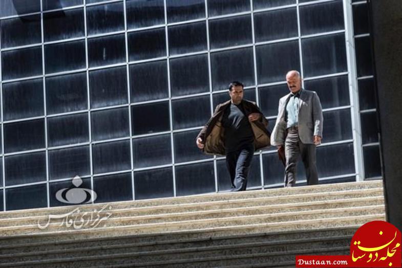 www.dustaan.com سعید راد در نمایی از سریال «مرگ خاموش» +تصاویر