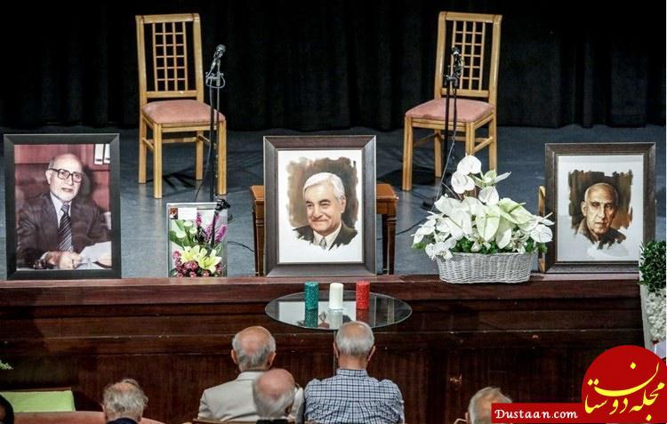www.dustaan.com تصاویری از مراسم یادبود عباس امیرانتظام