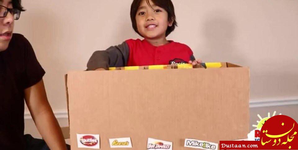 www.dustaan.com کودک 7 ساله ای که در سال 11 میلیون دلار درآمد دارد! +عکس