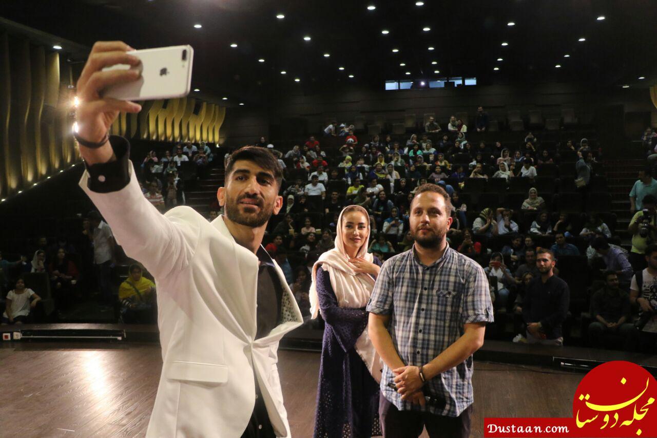www.dustaan.com عکس: حضور بیرانوند در کنار بهاره افشاری