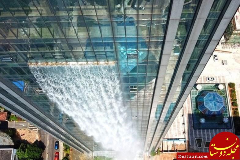 www.dustaan.com آبشار مصنوعی در چین به 108 متر ارتفاع! +تصاویر