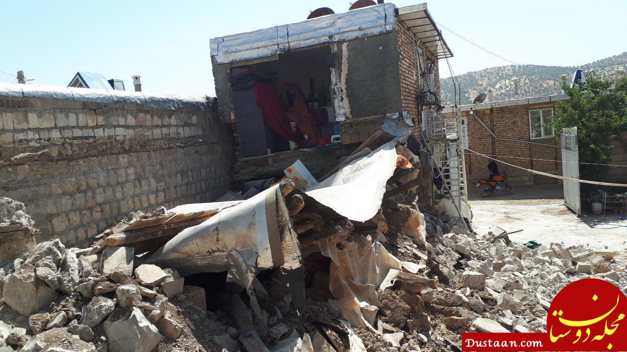www.dustaan.com فرماندار ثلاث باباجانی: در زلزله دیروز هیچ خانه بازسازیشدهای تخریب نشده است