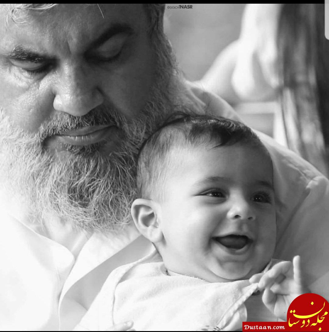 www.dustaan.com عکس دیده نشده از سید حسن نصرالله و نوه اش