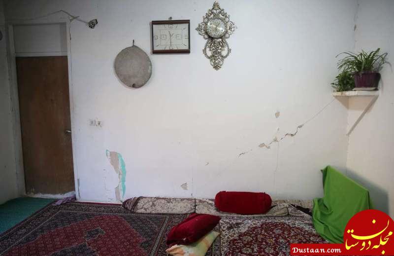 www.dustaan.com زلزله کرمانشاه به 43 روستا و یک شهر خسارت زد / 101 خانه روستایی تخریب شدند