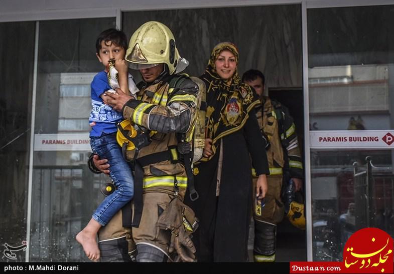 www.dustaan.com زندگی در برج 16 طبقه پارامیس که «تأییده ایمنی» ندارد! +عکس
