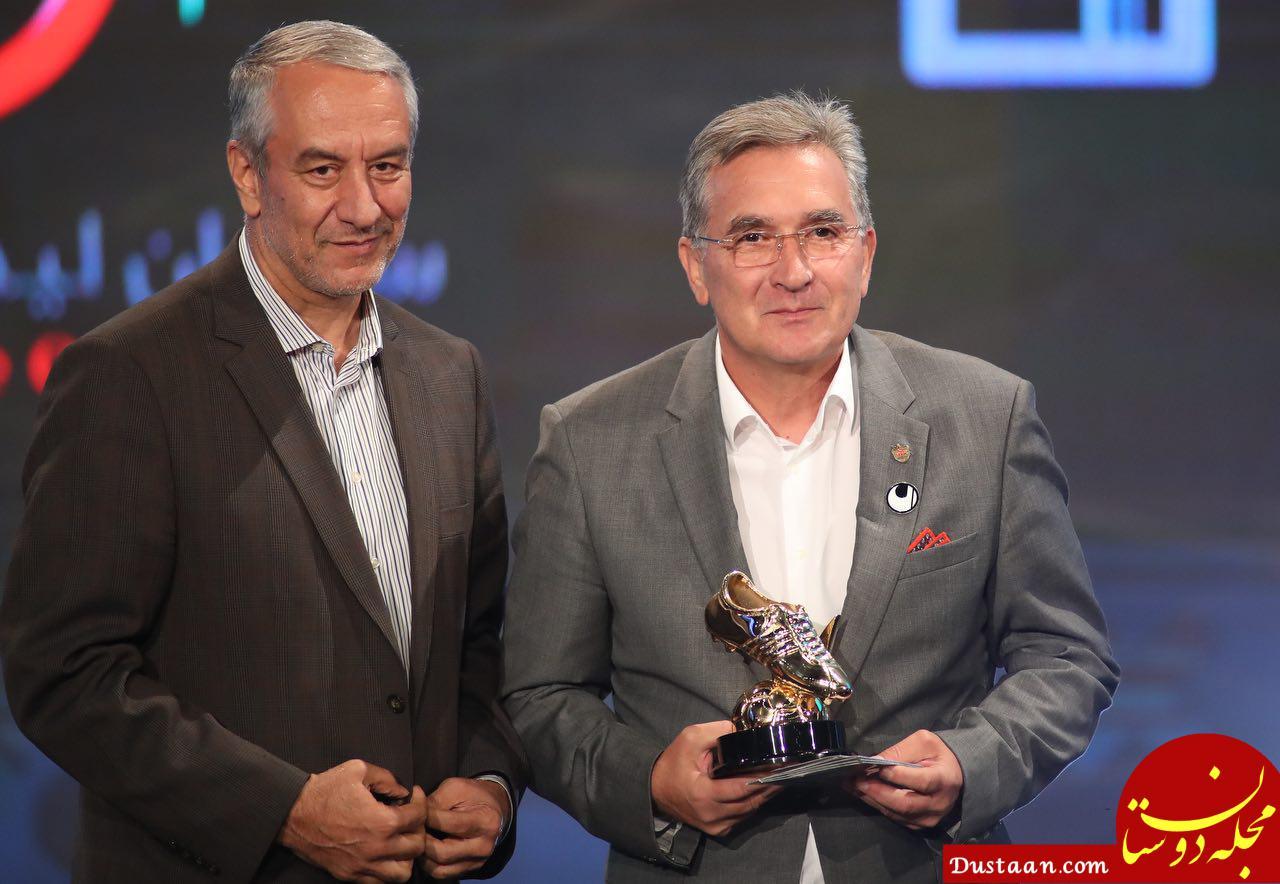 تشکر از مربی ورزشی واکنش سرمربی پرسپولیس به بردن جایزه برترین مربی ایران ...