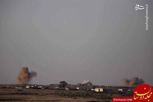 حمله جنگنده روسی به لانه تروریست ها +تصاویر