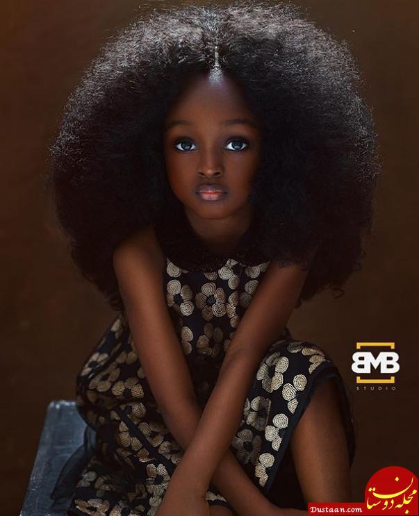 www.dustaan.com دو عکس دیدنی از زیباترین دختربچه جهان!