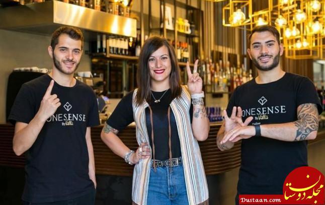 www.dustaan.com افتتاح اولین رستوران مخصوص ناشنوایان در ایتالیا +تصاویر