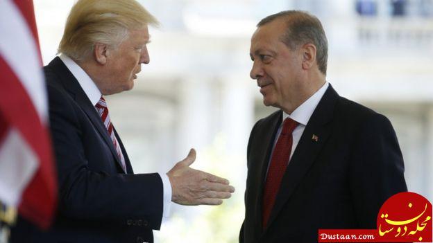 www.dustaan.com ترامپ «اف ۳۵» را گروکشی می کند تا اردوغان را مجبور به تحریم نفت ایران کند