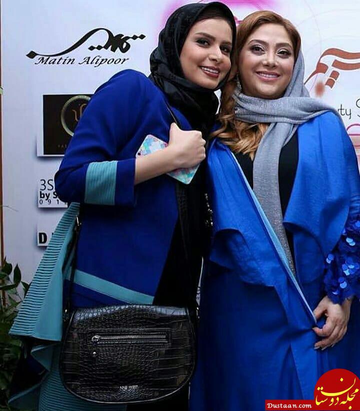 www.dustaan.com تیپ متفاوت بازیگران مشهور در افتتاحیه سالن زیبایی «مریم سلطانی»