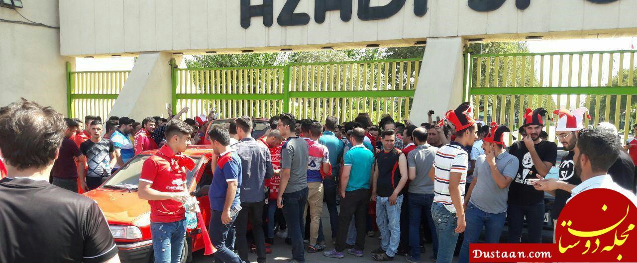 www.dustaan.com 8 هزار صندلی برای هواداران تراکتور