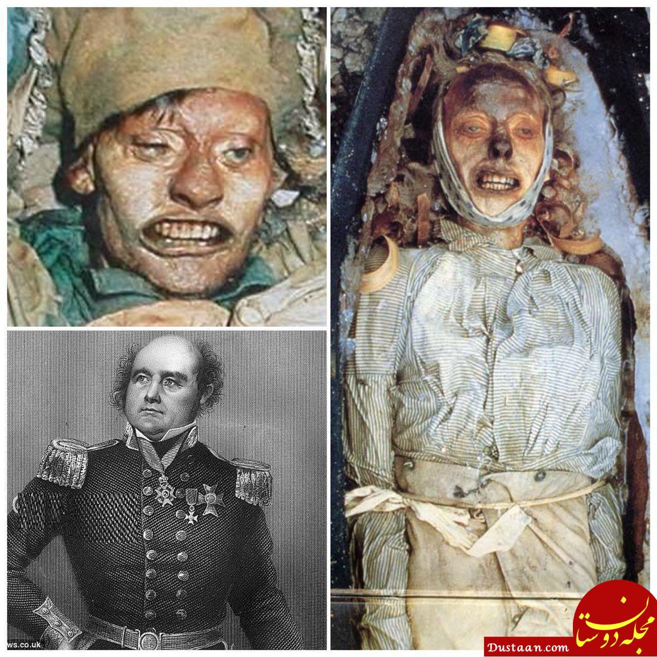 www.dustaan.com کشف جسد یخ زده پس از 150 سال! +عکس