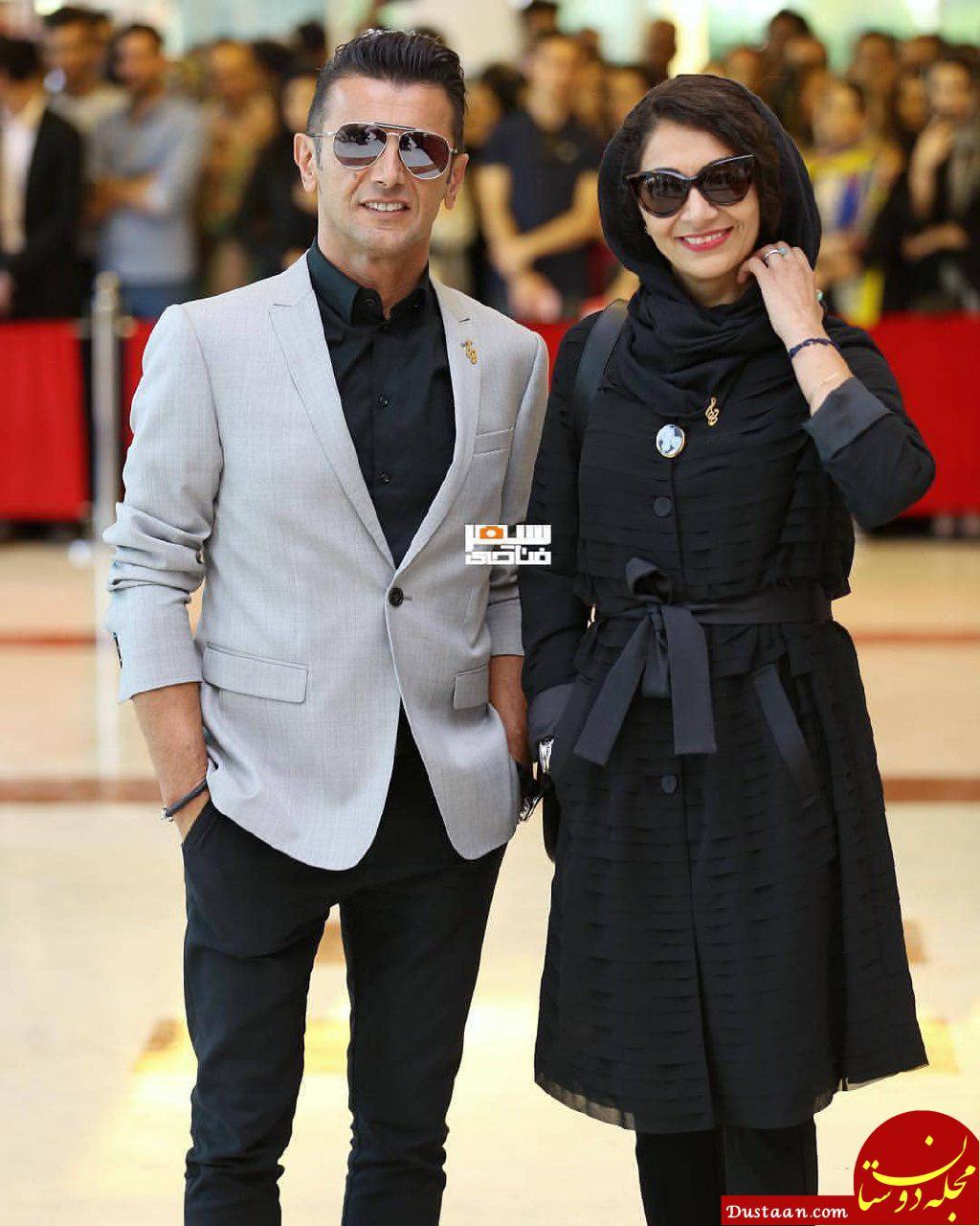 www.dustaan.com تیپ دیدنی زوج هنرمند کشورمان در در جشن حافظ! +عکس
