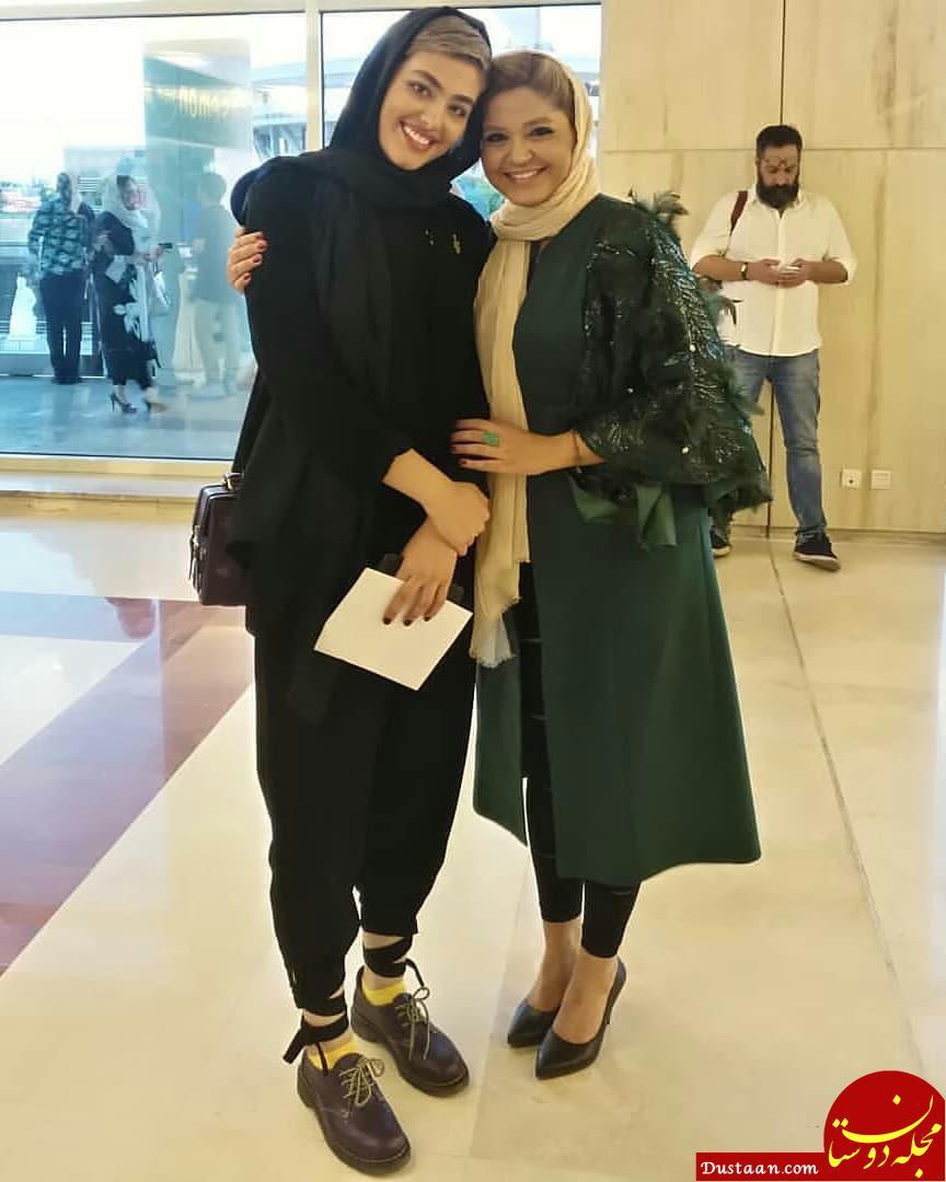 www.dustaan.com سینا مهراد و ریحانه پارسا بازیگران سریال پدر در حاشیه جشن حاف