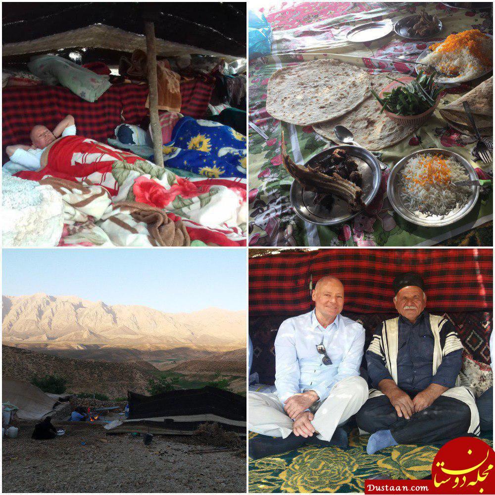 www.dustaan.com تعطیلات سفیر آلمان در ایران +تصاویر