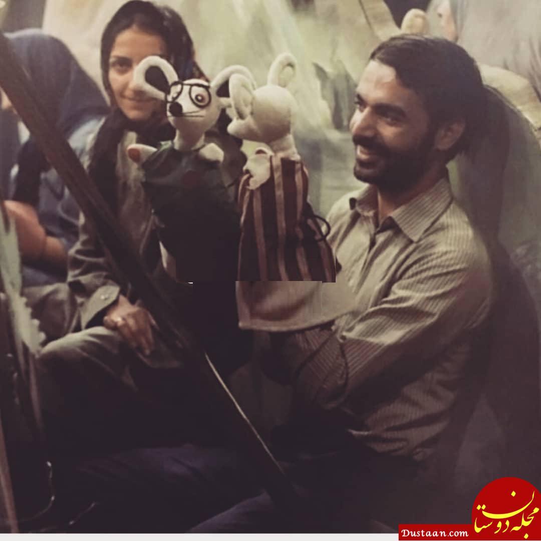 www.dustaan.com ایرج طهماسب و مرضیه برومند 36 سال پیش! +عکس