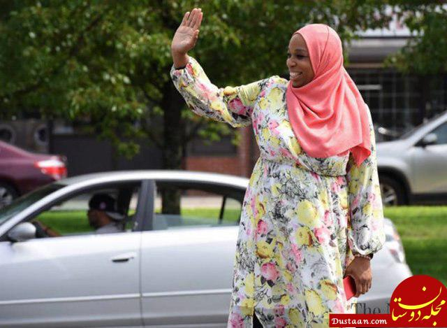 www.dustaan.com کاندیداتوری یک زن مسلمان برای حضور در کنگره آمریکا/ او مادر هفت فرزند است!