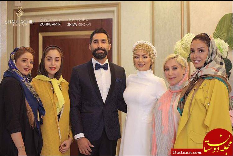 www.dustaan.com عکس های عروسی سمانه پاکدل و هادی کاظمی + بیوگرافی و نحوه ازدواج