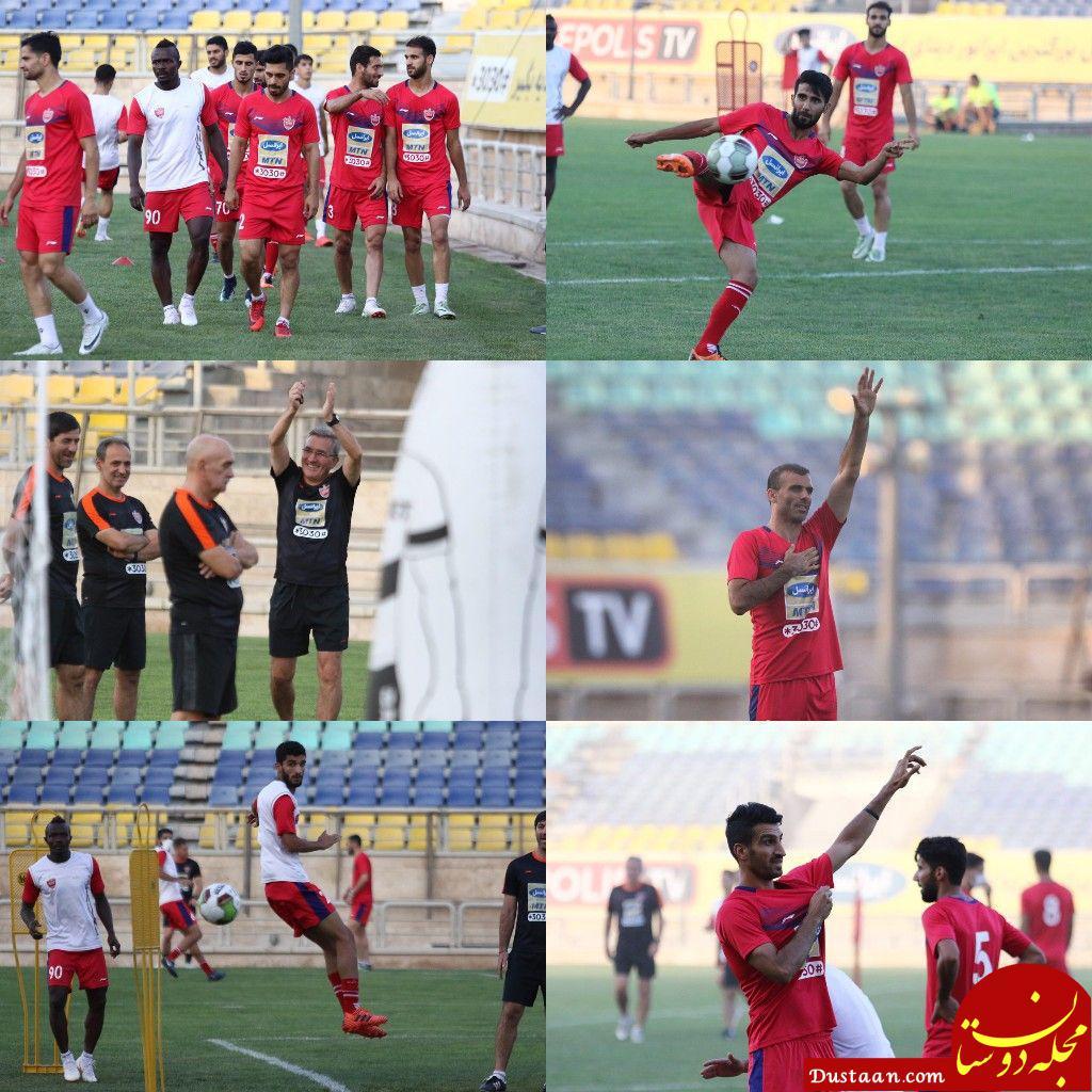www.dustaan.com ماهینی: پرسپولیس ۱۰ برابر تعداد هوادارانش دشمن دارد/ امسال با ۱۲ بازیکن قهرمان می شویم!