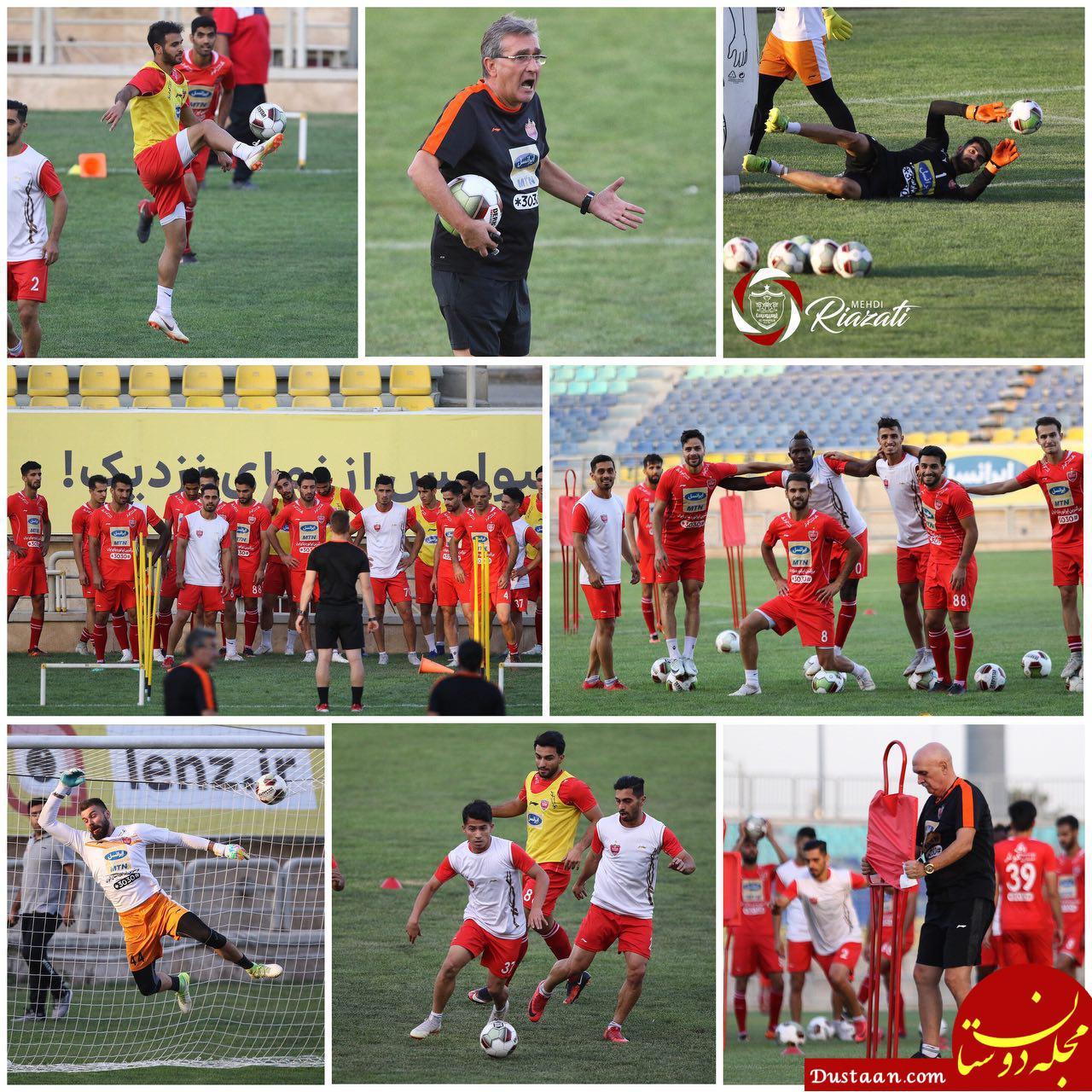 www.dustaan.com تغییر بازی پرسپولیس و الدحیل به دلیل همزمانی با تاسوعا