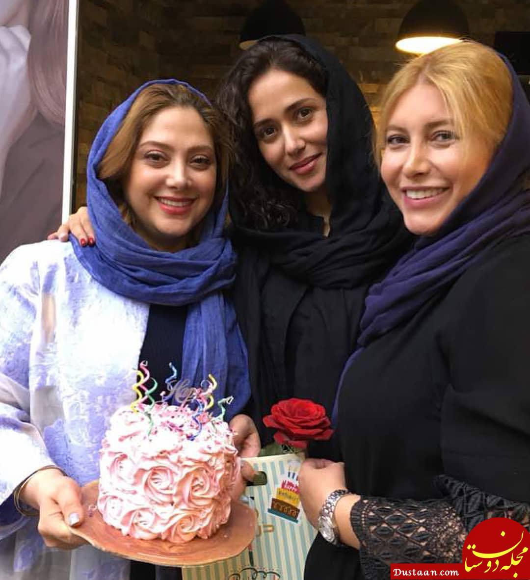 پریناز ایزدیار در جشن تولد 33 سالگی اش +عکس