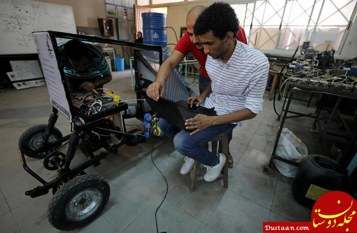 www.dustaan.com این خودرو با اکسیژن حرکت می کند! +عکس