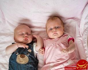 www.dustaan.com تولد عجیب دوقلوها از مادری با 2 رحم! +عکس