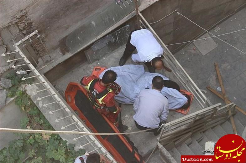 زنده ماندن معجزه آسای زن جوان پس از سقوط از بالکن منزل +عکس