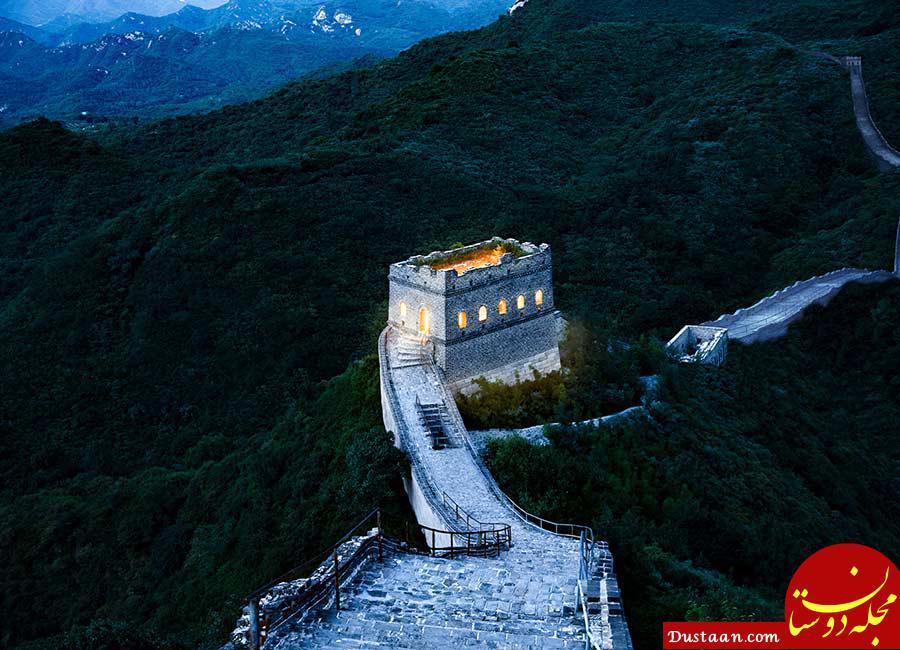 www.dustaan.com تبدیل دیوار چین به هتل! +تصاویر