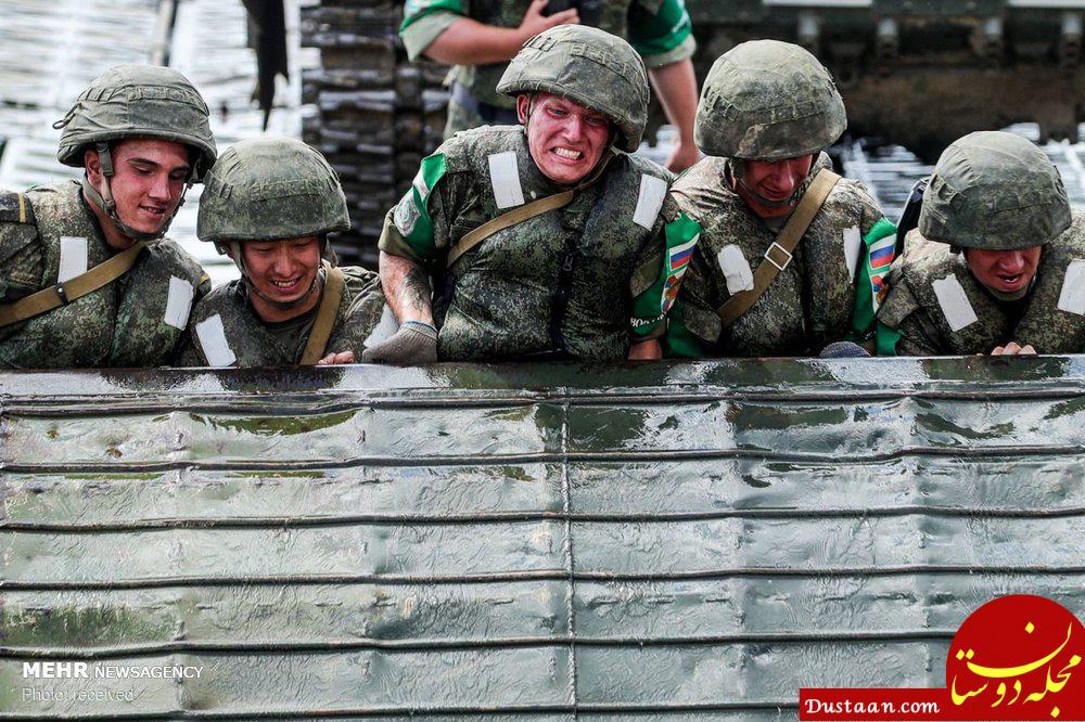 www.dustaan.com تصاویری دیدنی از مسابقات ارتش های جهان در روسیه