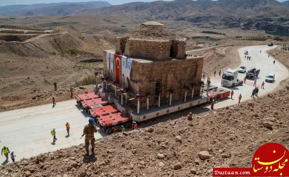 www.dustaan.com انتقال ساختمان حمام تاریخی به مکانی جدید! +عکس