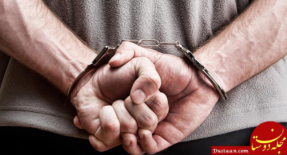 www.dustaan.com دستگیری موتور سوار مزاحم زنان که از آنها فیلمبرداری می کرد