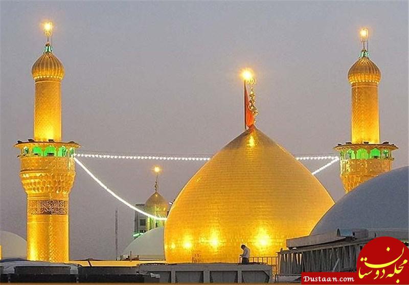 www.dustaan.com آتش سوزی در نزدیکی حرم امام حسین (ع)؛ 2 نفر جان باختند